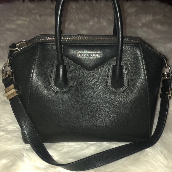 249c66ee03 Givenchy Bags | Antigona Small In Black Pebbled Leather | Poshmark